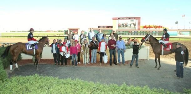 Native American & Grand Full Moon (DH) - Shakopee Juvenile Stakes - 09-13-14 - R09 - CBY - Winner's Circle