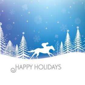 Happy Holidays from Canterbury Park