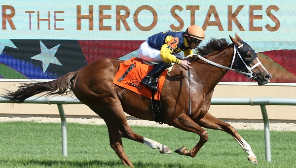 RICHIES SWEETHEART - Honor the Hero Stakes - 05-30-16 - R07 - CBY - Finish