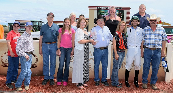 FASTER THAN HASTA - Minnesota Stallion Breeder's Futurity - 07-10-16 - R04 - CBY - Presentation
