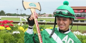 Hugo Sanchez won the Paul Bunyan Stakes in 2015