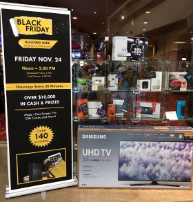 Giveaway, free gifts, things to do on black Friday